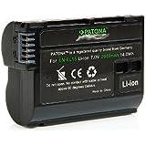 Patona Premium Akku für Nikon EN-EL15 D7000 D7100 D7200 D600 D610 D750 D800 D810 Nikon 1 V1