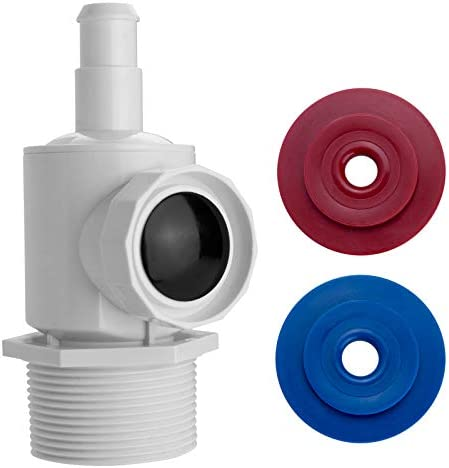 Wall Fitting Connector for Polaris Cleaner - Pressure Relief Valve Quick Connect Assembly Wall Fitting Compatible with Polaris Zodiac 180 280 380 Pool Vacuum Sweep, Polaris Pool Sweep Hose Connector