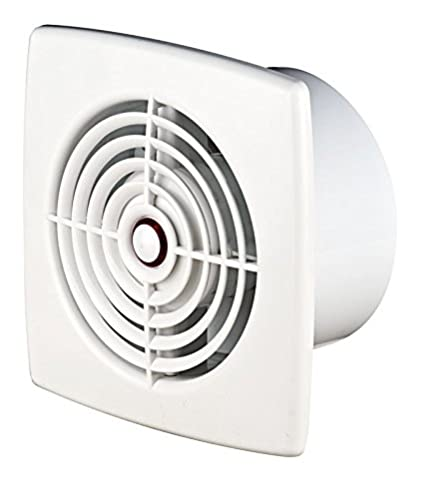 """Extractor de baño 100 mm/4 """"con sensor de humedad temporizador (retraso"""