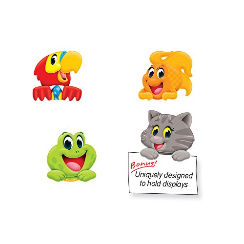 (TREND enterprises, Inc. Playtime Pals Clips Mini Accents Variety Pack, 36 ct)