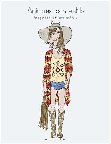 ✨ Libro de texto en español descargar pdf Animales con estilo libro ...