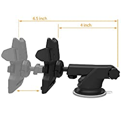 Iottie Easy One Touch 2 Car Mount Universal Phone Holder For Iphone X 88 Plus 7 7 Plus 6s Plus 6s 6 Se Samsung Galaxy S9 S9 Plus S8 Plus S8 Edge S7 S6 Note 8 5