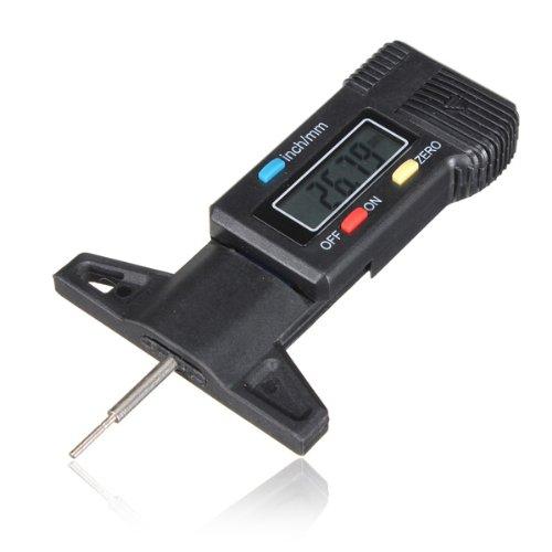 Digital Tiefenmesser Messchieber Profiltiefenmesser LCD Reifen Profilmesser FamilyMall
