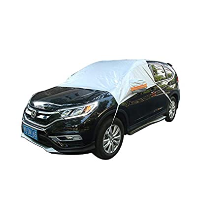 Vosarea Car Windshield Sunshade Car Windshield Cover Snow Frost Fog Dust Shield Car Window Protector