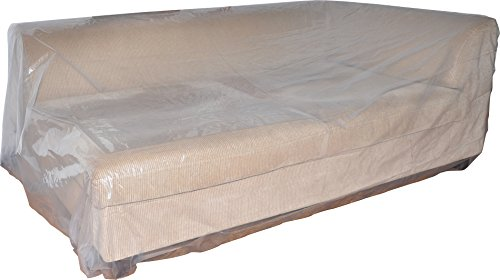 IBBM 1 Pack Mattress Bag for Moving and Storage - Extra Thick 3-Mil Heavy Duty - 76 Inch x 96 Inch Queen/Full Size - Fits Standard, Extra-Long, Pillow-top Variation