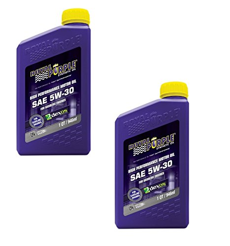 Royal Purple SAE Multi-Grade Synthetic Motor Oil 01530-5W30 Pack of 2 Quarts