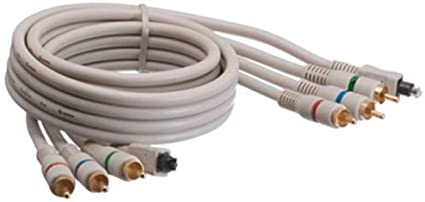 12Ft 12 Feet Component Video Toslink Coaxial Cable YPbPr Triple RCA Male Male