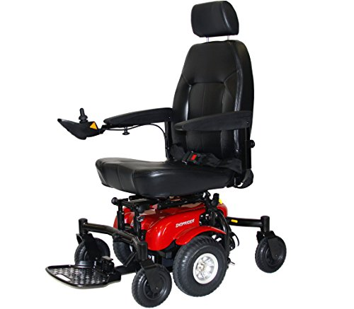 6 Runner Power Chair Color: Red ()