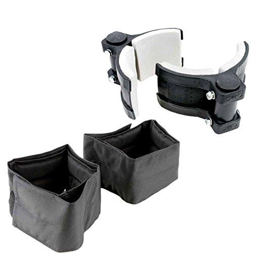Ultimate Comfort Padded Stilt Leg Band Set - Flex Cuff Calf Bands Plus Comfort Cushion Straps - Fits Pentagon, Dura-Stilts, GoPlus, GypTool, Sur-Stilt, More