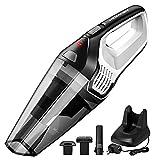 Homasy Handheld Vacuum Cordless, 6Kpa Super Power Vacuum Cleaner Accessories Kits, 2200mAh Lithium