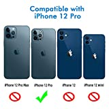 Wsken Camera Lens Protector for iPhone 12 Pro
