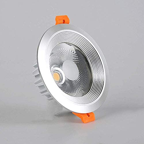 Ultra Thin Round Embedded Integrated Spotlight Aluminum Ceiling Down Lighting LED Embedded Integrated Panel Flat Lamp Recessed LightsBuilt-in Driver for