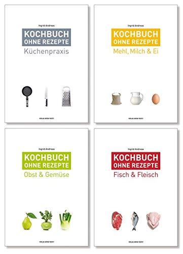 Kochbuch Ohne Rezepte  Band 1   4 Im Set