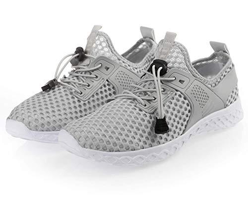Adorllya Water Shoes for Women Men Mesh Aqua Shoes Slip on Hiking Swim Shoes