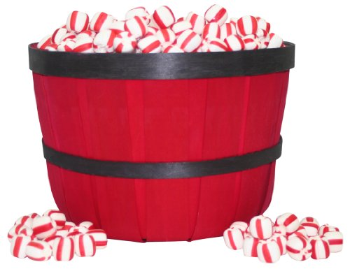 Stewart Candy Basket Soft Peppermint Candy for Office Breakrooms, 600 Count (AUA10306)