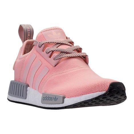 Womens Adidas NMD (Womens 10, Pink Gray)