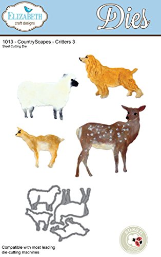 Elizabeth Craft Designs Countryscapes Critters 3 Metal Die