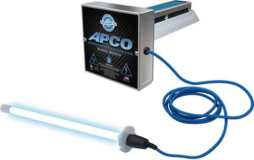 Freshaire - TUV-APCO-DI2 - Two Year Lamp, with 2nd Remote Lamp (110-277 VAC series) APCO In-Duct Air Purifier