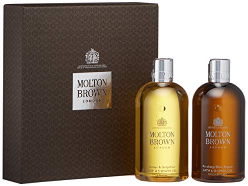 Molton Brown Bold Adventures Bathing Gift Set, 10 Fl. Oz. (Molton Brown Body Wash 10 Fl Oz)