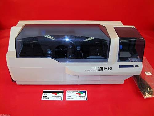 Zebra P430i Color (P430i Thermal transfer 300 dpi USB Dual-Sided Color Printing (Certified Refurbished))