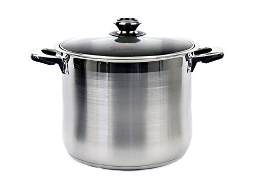 Excelife AC820 Ace Stainless Steel Induction Stock Pot, 20 q