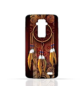 LG G Flex TPU Silicone Case with American Feathers