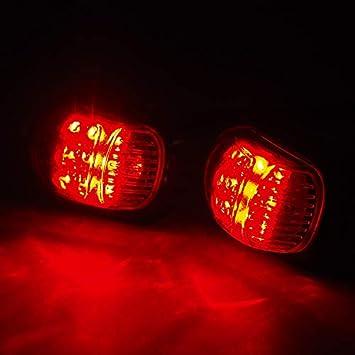 CYNDIE 2PCS Motorcycle Turn Signal Light 12V LED Turn Signals Indicators Universal Blinkers Flashers for Honda Grom Msx125 Msx125 SF Blue