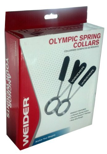 Weider Olympic Spring Collars Set of 2