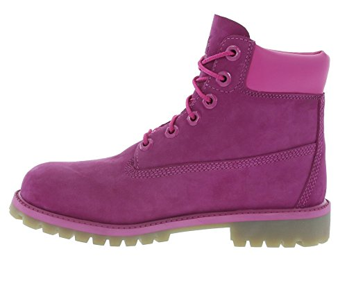 Timberland 6 in Classic Boot FTC_6 in Premium WP Boot 14749, Unisex-Kinder Stiefel Pink