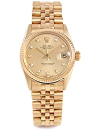Automatic-self-Wind Female Watch 6827 (Certified Pre-Owned)