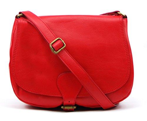 OH MY BAG VINTAGE, Borsa a spalla donna Rosso (Rosso)