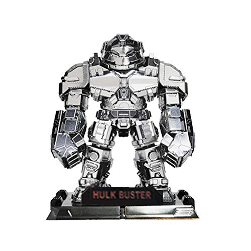 3D Inno Metal Model Hulk Buster SD (Silver) ()