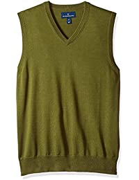 Men's Supima Cotton Lightweight Sweater Vest