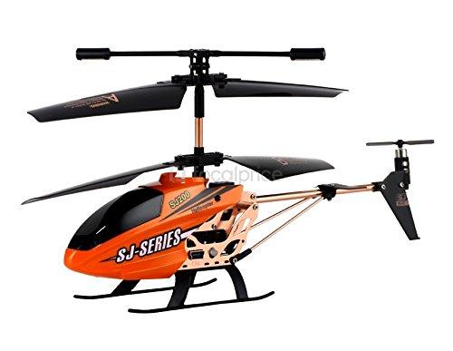 Batteria generica SJ Series PC giocattolo volante elicottero 3.5 canali con telecomando – arancione.