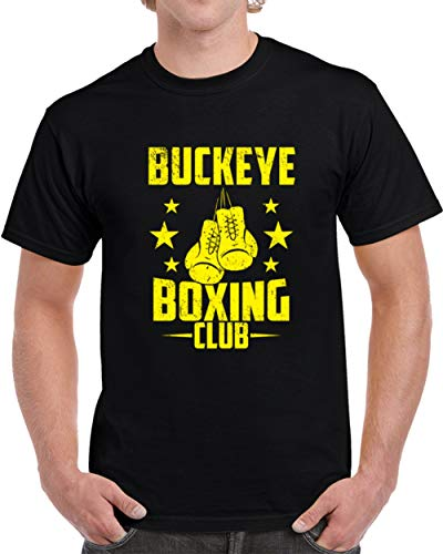 Buckeye Boxing Club Fightclub Gym Custom City Athletics Unisex T-Shirt M Black