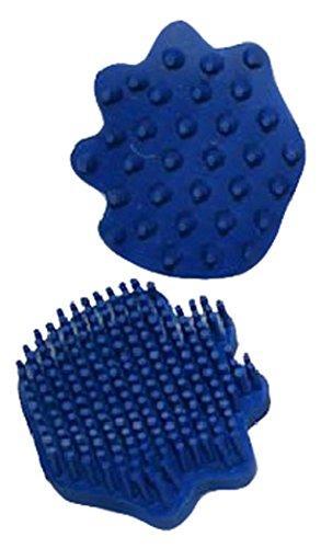 - Derby Originals 91-7016BL Easy  Super Grip Rubber Groomer & Cleaner 2 Piece Set, Medium, Blue