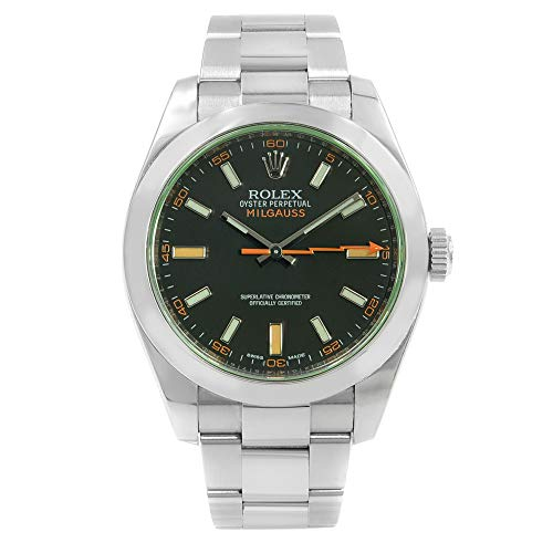 Rolex Milgauss Automatic-self-Wind Male Watch 116400 (Certified Pre-Owned) ()