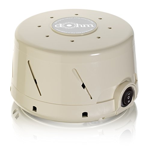 Marpac Dohm-DS All-Natural White Noise Sound Machine, - All Shop White