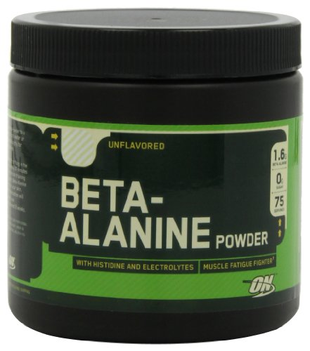 - OPTIMUM NUTRITION Beta-Alanine, Unflavored, 7.15 Ounce