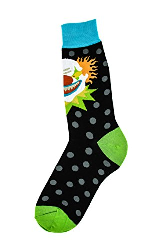 Scary Clown Clothes (Foot Traffic - Men's Socks, Scary Clown)