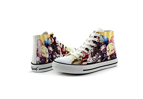 Re: Zero Life In Een Andere Wereld Canvas Schoenen Cosplay Schoenen Sneakers Kleurrijke Colorful5