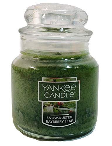 - Yankee Candle Snow-Dusted Bayberry Small Jar Candle 3.7 oz
