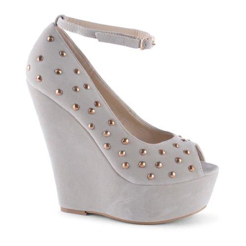 Footwear Sensation - punta abierta de sintético mujer Beige - beige