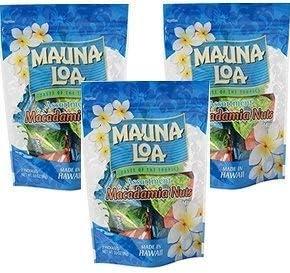 MAUNALOA(マウナロア) マカデミアナッツ ミニアソートバッグ 98g(塩×3袋、ガーリック×2袋、ハニー×2袋) (【3袋】)