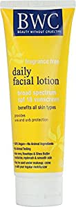Beauty Without Cruelty Daily Facial Lotion - 4 Oz