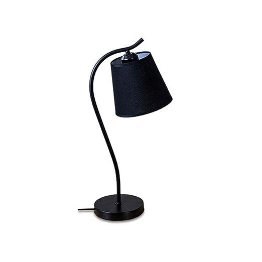 Creativo elegante Lámpara de mesa de hierro forjado Estudio ...