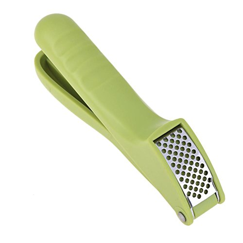 Garlic Press - Stainless Steel Hand Press Ginger Garlic Slicer Crusher for Home Cooking Tool