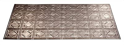 Fasade - Traditional Style/Pattern #4 Glue Up Ceiling Tile / Ceiling Panel - Fast and Easy Installation