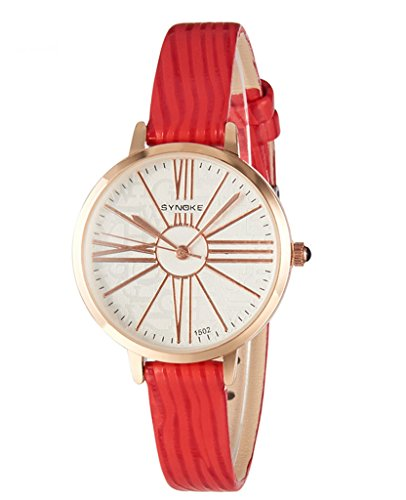 Price comparison product image Auspicious beginning Student's Quartz Fashion Leather Watchbelt Watch For Girls