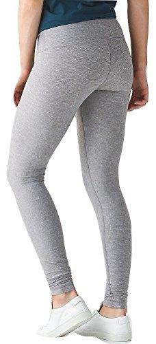 Lululemon Wunder Under Pant III Full On Luon Yoga Pants (Heathered Slate, 8)